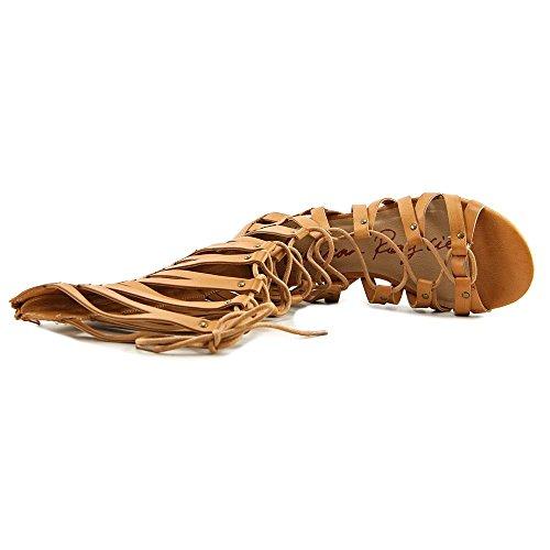 Gladiador Mujer Sandalia Maya Sintética Fibra Tan Rag American Burnt CZxYqwqBE