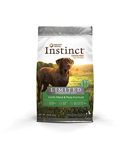 Cheap Instinct Limited Ingredient Diet Grain Free Lamb Meal & Peas Formula Natural Dry Dog Food by Nature's Variety, 4.4 lb. Bag