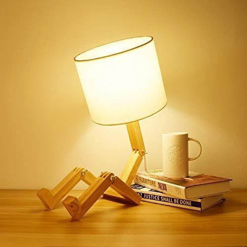 Luz De Nocturna Ledlámpara De Mesa Dormitorio Personalidad Lámpara ...