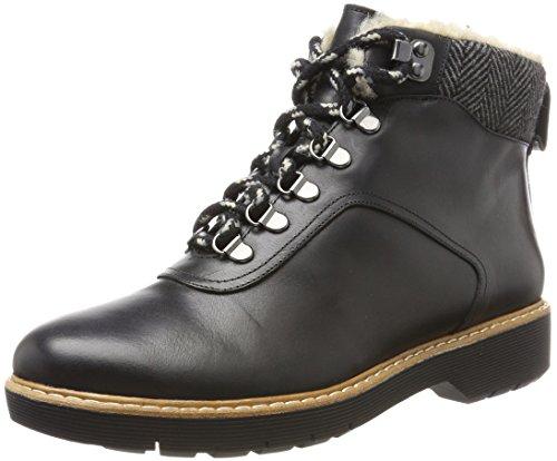 Rock Leather Black Bottes Ioqxpibr Clarks Femme Marron Witcombe Noir 5Pw56q0