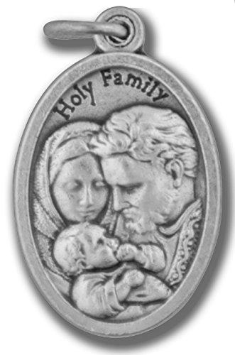 (Small Catholic Saint Medal - Bulk Pack of 10 (Holy Family))