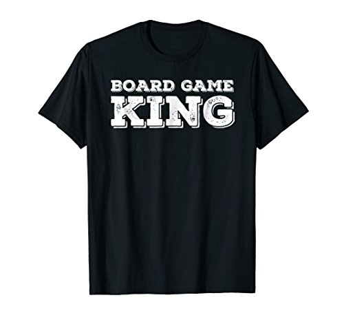 BOARD GAME KING Shirt Funny Chess Player Geek Nerd Gift (Cute Nerd Costume Ideas For Girls)