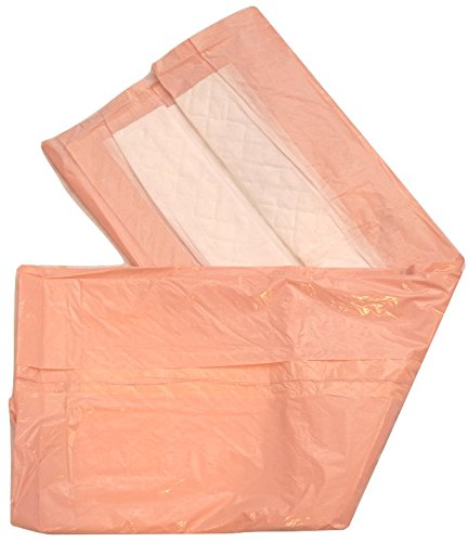 Extra Large Disposable Incontinence Bed Pad with Tuckable Sides 10 Count (Size 30Wx36L) - Underpad Incontinence tuck in Protection for Adult, or Child - Absorbent Waterproof Chux by BrightCare by BrightCare (Image #2)