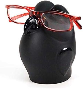 Antartidee Eyeglasses Holder Gorilla in Black matt Resin 100/% Handmade in Italy