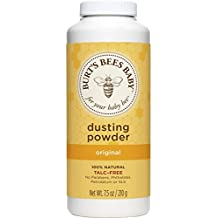 Burt's Bees Baby 100% Natural Dusting Powder, Talc-Free Baby Powder - 7.5 Ounce Bottle