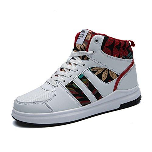 Lanfengeu Baskets Unisexe Adulte Chaussures Occasionnel Augmentation Couple Thermique En Laine De Haute Flexibilit