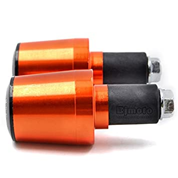 deslizador antivibraci/ón, agarres para Motocross extremo de manillar Universal para Motocicleta 22.22 mm BJ Global