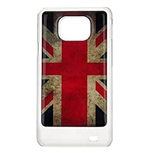 Retro Union Jack Pattern Protective Hard Back Case Cover for Samsung Galaxy S2 I9100
