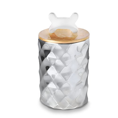 Julia Knight 1490030 Pet Collection Treat Canister One Size Toffee ()
