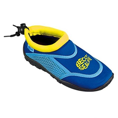BECO Kinder UV-geschützt Schuhe Schwimmbad Seite Schuh Sealife swimshoe (90023) pkph8