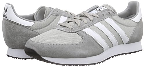 Basses Homme White Zx Solid Gris Grey Black Baskets ftwr Adidas Racer mgh core Iqtgw6q