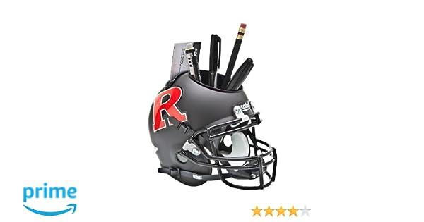 Schutt NCAA Rutgers Scarlet Knights Football Helmet Desk Caddy