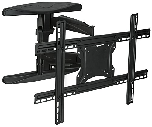 Mount-It! Full Motion Articulating Wall Mount for 40inch to 70 inch TVs Flat Screens LCD, LED, OLED 4K and 3D, VESA Max 600x400, 110 Lbs Weight Capacity (MI-344)