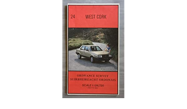 Irish Map: West Cork Sheet 24 Irish half-inch scale map series: Amazon.es: Ordnance Survey: Libros en idiomas extranjeros