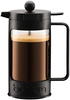 Bodum Bean Cafetera émbolo, 0.35 Liters, Vidrio, De plástico, Negro: Amazon.es: Hogar
