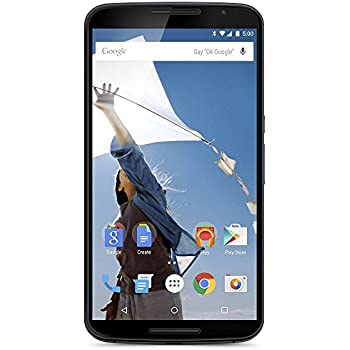 Motorola Nexus 6 XT1103 32GB 3G/4G LTE Factory Unlocked Cell Phone (Midnight Blue)