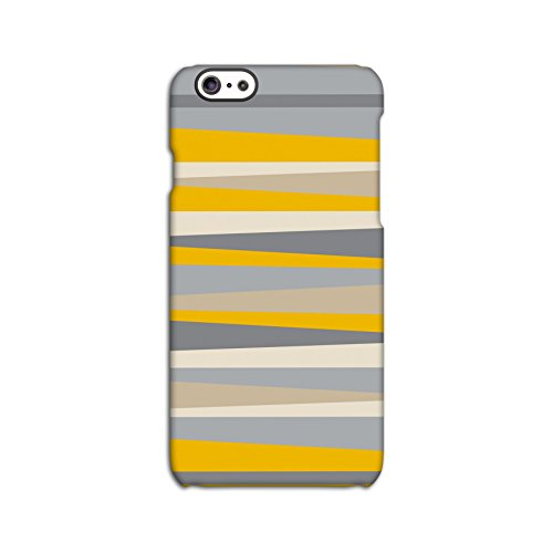 Orange Geometric Slices Deflector Back Case for Apple iPhone 6 6S