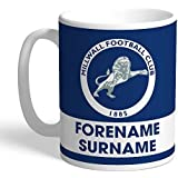 FREE PERSONALISATION Content Gateway Official Personalised Millwall FC Street Sign Mug