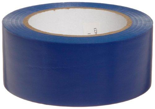 Brady 108 Length, 2 Width, B-725 Vinyl Tape, Blue Color Aisle Marking Tape