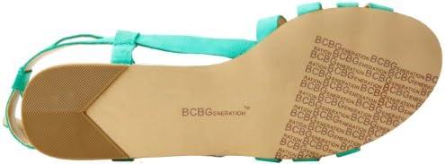 BCBGeneration Women's Rossie Sandal,Caribbean Sea,9 M US