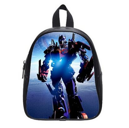 Large Size Optimus Prime Printing Backpack Custom High School Students Backpack for Travel or Party