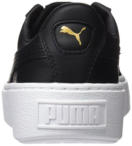 Zapatillas Mujer Core Platform Black Puma gold para Basket Negro TwxtqXHv