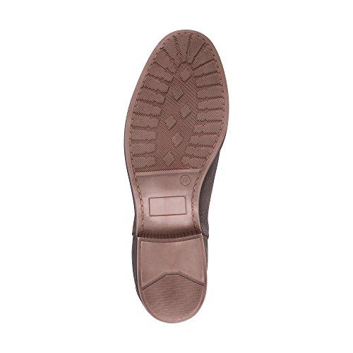 DRIEVHOLT Damen Chelsea-Boots grau-hell