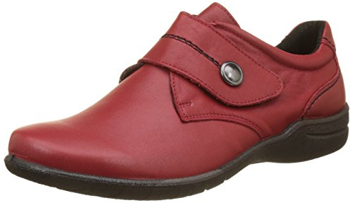 Seibel Chaussons 05 Femme Josef Rouge Hibiscus Bas Fabienne Rouge wZtqwdTS