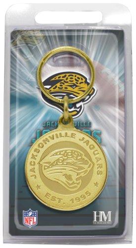 (NFL Jacksonville Jaguars Bronze Bullion Keychain)