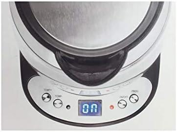 Lacor 69292 Bouilloire électrique en verre 2200W 1,7l