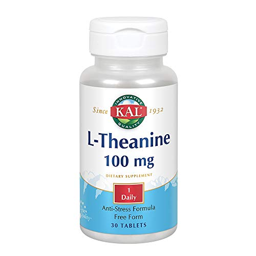 Kal 100 Mg L-theanine, 30 Count