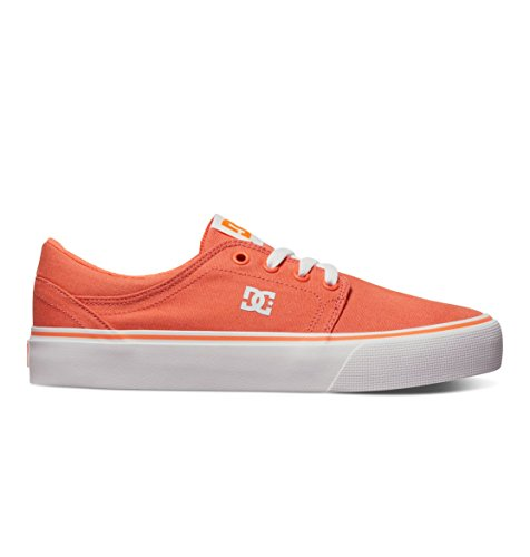 Skate Shoe DC Fluorescent Trase Orange Women's TX twwqz8F