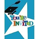 Graduation Party Invitations - Grad Party Invitations - 8 Count