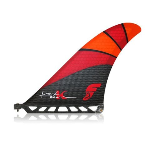 Futures Karen Wrenn 8' SUP Fin - Carbon / Red / Orange Futures Fins