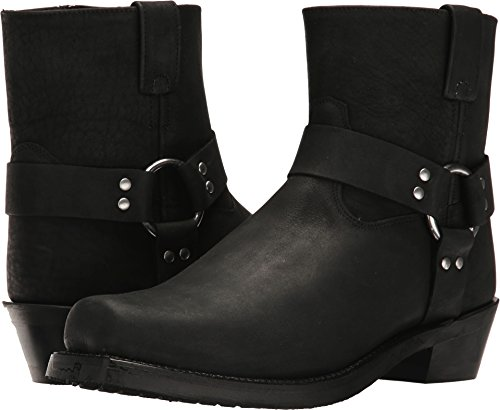 Distressed Fashion Boots - 5