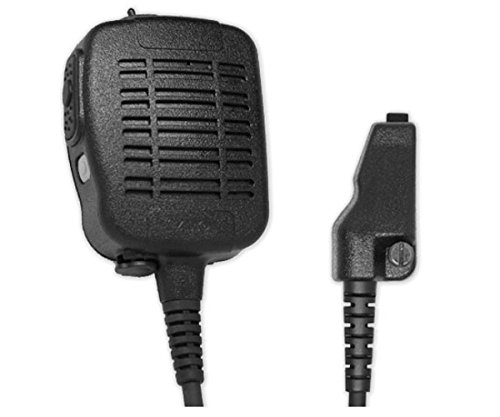 ARC S51012 Heavy Duty Anti-Magnetic Speaker Shoulder Microphone for Kenwood Multi-Pin (See List) by ARC