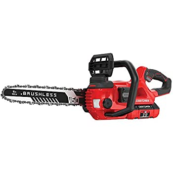 Image of CRAFTSMAN V60 Cordless Chainsaw, 16-Inch (CMCCS660E1) Home Improvements