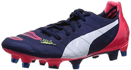 white Homme Football peacoat Bleu De 2 Plasma 01 Sg Puma Chaussures bright Mixed Blau 2 Evopower 80qWwU7