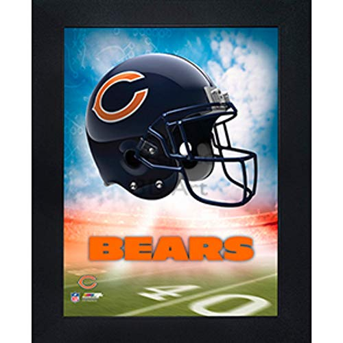 - Chicago Bears 3D Poster Wall Art Decor Framed Print | 14.5x18.5 | Lenticular Posters & Pictures | Memorabilia Gifts for Guys & Girls Bedroom | NFL Football Team Sports Fan Pictures for Man Cave