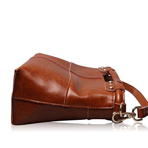 Handbags Laidaye Shoulder Retro Messenger Handbag Red Bag CCrR5wqFp