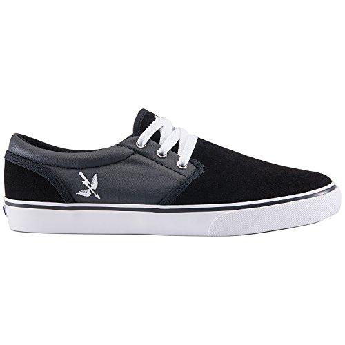 Zapatillas de Skate para hombre talla The Easy Skate Shoes BLACK/SAINT ARCHER