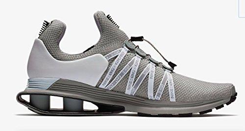 Nike Shox Gravity Men's Running Shoe, Wolf Grey/Black-White, Size ()