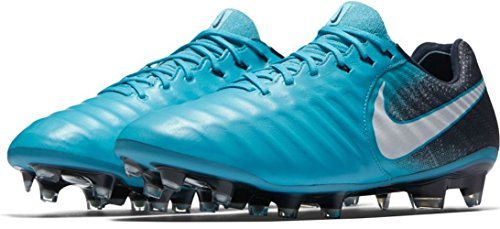 Gamma Blue glacier Tiempo Blue Football Noir Nike Orange obsidian de Chaussures VII White FG Legend Homme vP11TwqU