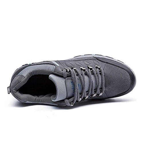 Occasionnels Sport patinage De La Plein Imperméables Hommes Mode En Anti Air Gris Baskets Randonnée Huichang Chaussures Z0q4Xf