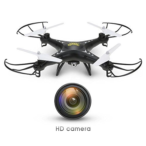 Holy-Stone-HS110W-FPV-Drone-with-720P-HD-Live-Video-Wifi-Camera-24GHz-4CH-6-Axis-Gyro-RC-Quadcopter-with-Altitude-Hold-Gravity-Sensor-and-Headless-Mode-Function-RTF