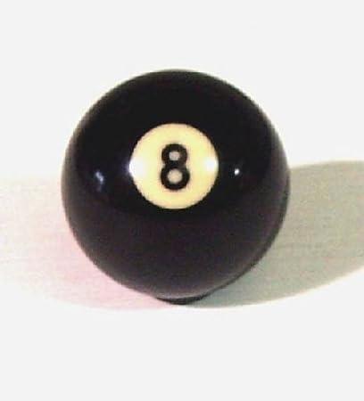 Original Negro 8 Ball bolas de billar hace ideal – Pomo para ...