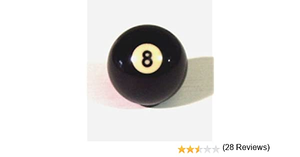 Original Negro 8 Ball bolas de billar hace ideal – Pomo para palanca de * *: Amazon.es: Coche y moto