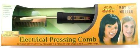 Hot & Hotter Electric Pressing Comb 5838