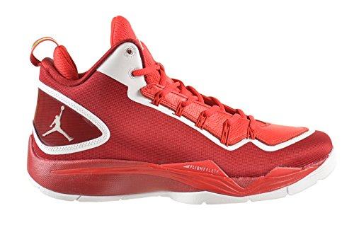 Jordan Super.Fly 2 PO Men's Shoes Gym Red/White-Challenge Red 645058-602 (10 D(M) US)