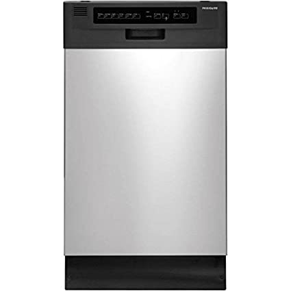 Amazoncom Frigidaire Ffbd1821ms 18 Built In Dishwasher Black
